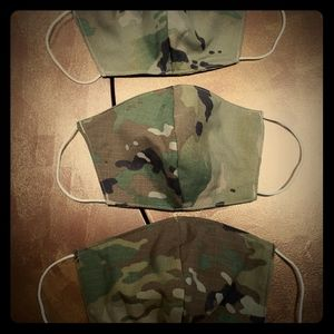 Camouflage virus protective masks. 3 for $20